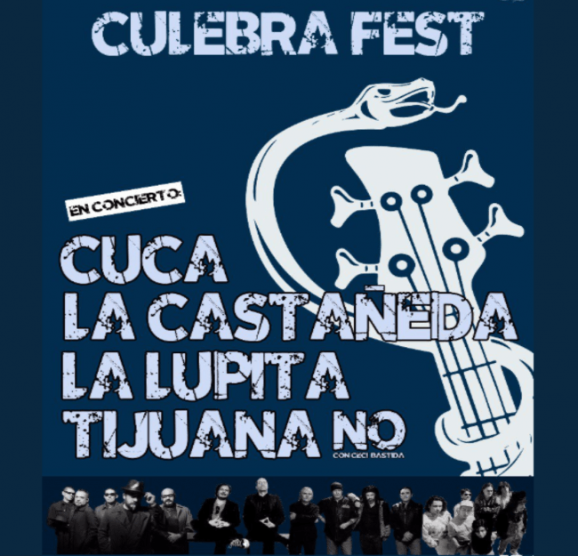 Culebra Fest el DeLorean del rock.